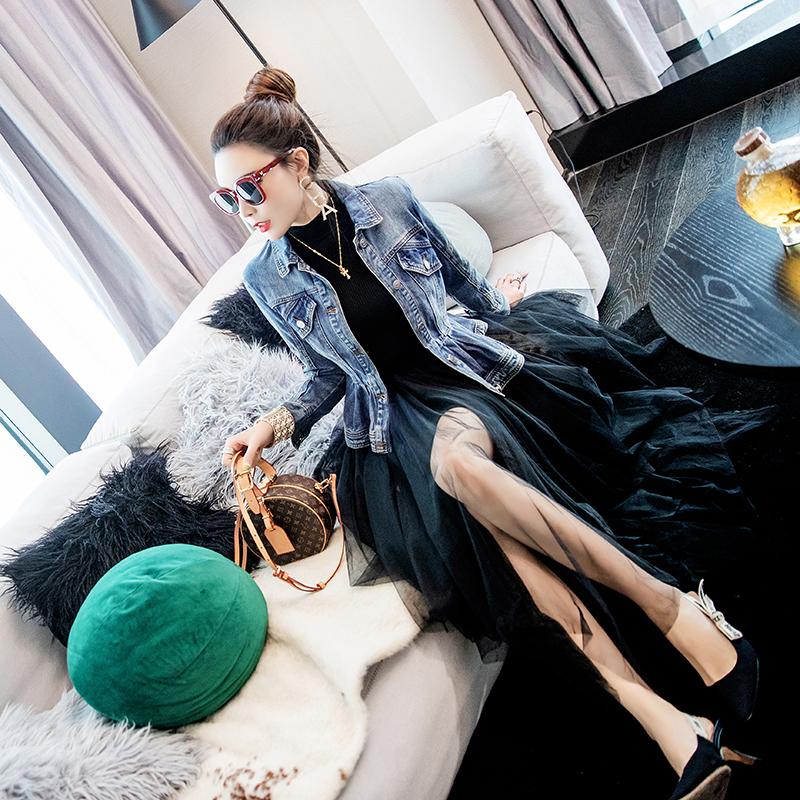 女装名媛套装裙时尚2019新款半身气质洋气件套裙外套两秋冬裙子潮
