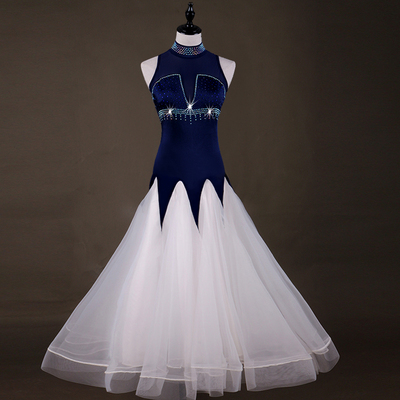 MQ056 high-collar Modern Dance Dress