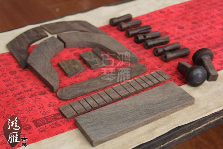 Музыкальные инструменты «Лебединое гусь гуцинь» аксессуары гуцинь взлома черное фортепиано материалы Корона угол Takeyama гуцинь 18