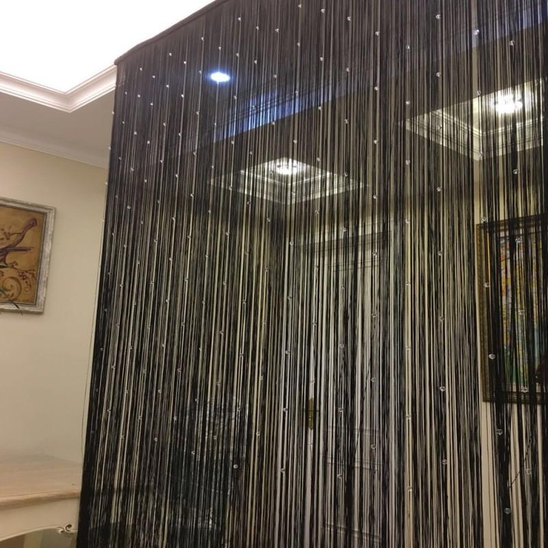 Кристаллический занавес занавески дверь Занавес занавес гостиной с бахромой Занавес Hotel Feng Shui