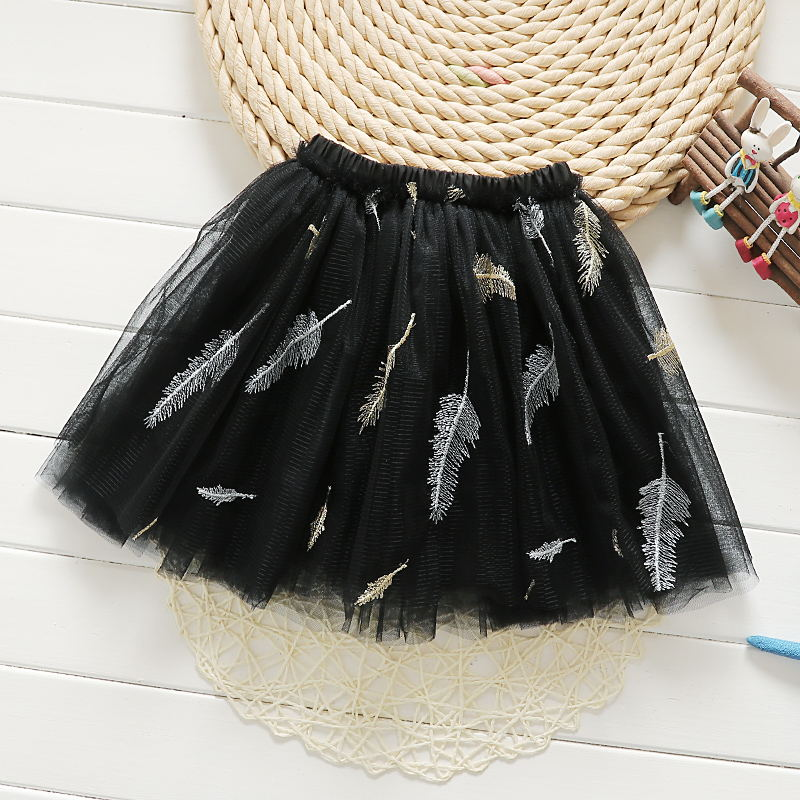 No. 5 feather black