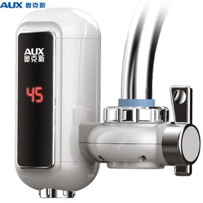 奥克斯电热水龙头免安装速热家用即热式小型加热接驳式厨房热水器