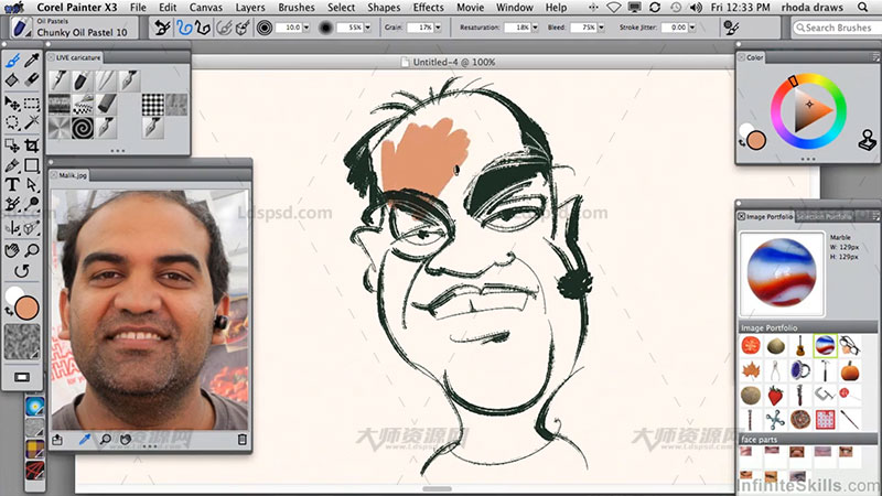 Udemy Learning Corel Painter X3 Be Creative With P.jpg