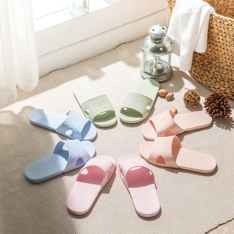 旅行便携式可折叠拖鞋旅游浴室防滑男女情侣出差酒店洗澡居家拖鞋