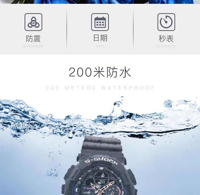 薇安手錶集市~卡西歐手錶G-SHOCK GMA-S140M-7A/S140-4A/1A/2A/8A電子男女腕錶