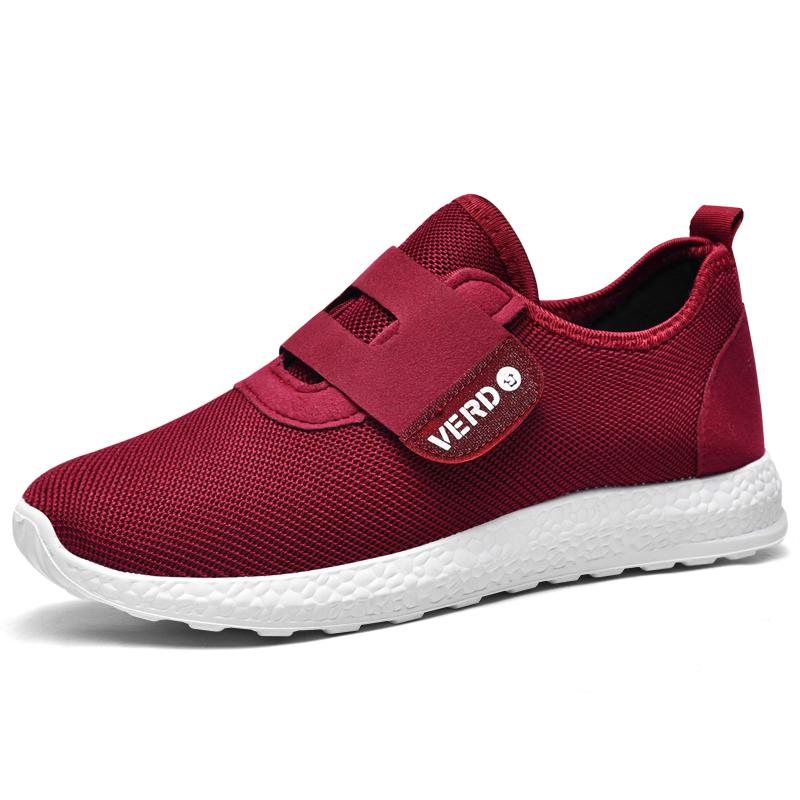 秋季老人鞋老北京布鞋透气妈妈鞋软底防滑中老年运动健步鞋子女鞋