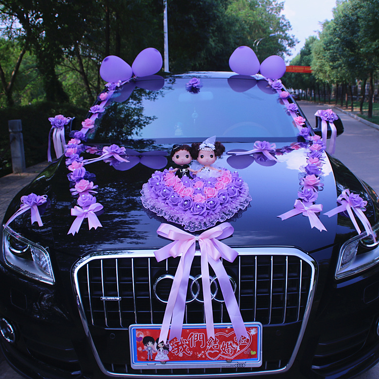 Usd 9145 chuang hang wedding car decoration set wedding car flower chuang hang wedding car decoration set wedding car flower car decoration supplies front flower wedding car junglespirit Gallery