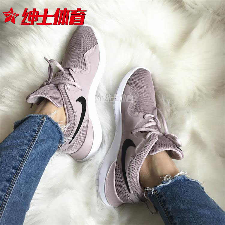 bfa2a2b4bade3 Nike Tessen spring and autumn new Nike women s dirty powder mesh breathable sports  running shoes AA2172