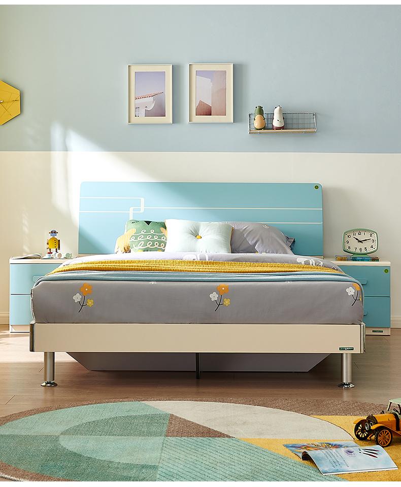 全友家居青少年北欧傢俱卧室床米男孩床公主床详细照片