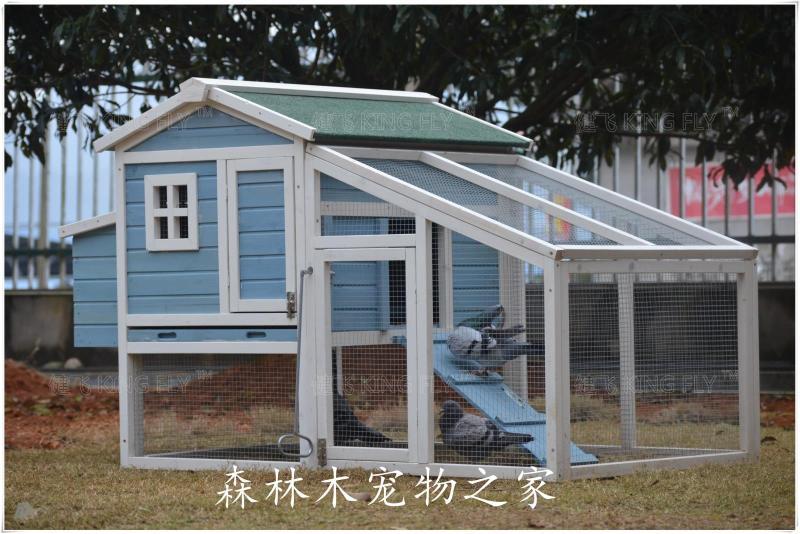 USD 330.18] Jian Fei Outdoor wood cages Coop rabbit cage Rabbit ...
