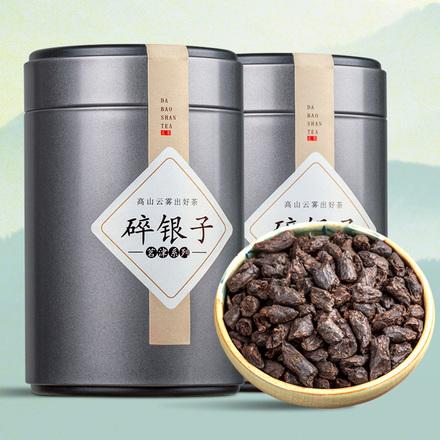 碎銀子云南普洱茶熟茶糯米香茶老茶頭散茶高品質茶葉茶化石500g