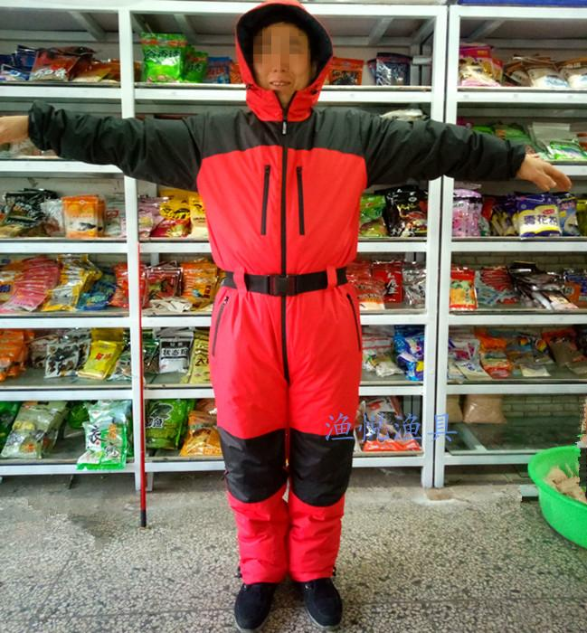 Winter down thick winter fishing clothing waterproof fishing clothing ice fishing baubles clothing cold storage clothing ... & Winter down thick winter fishing clothing waterproof fishing ...