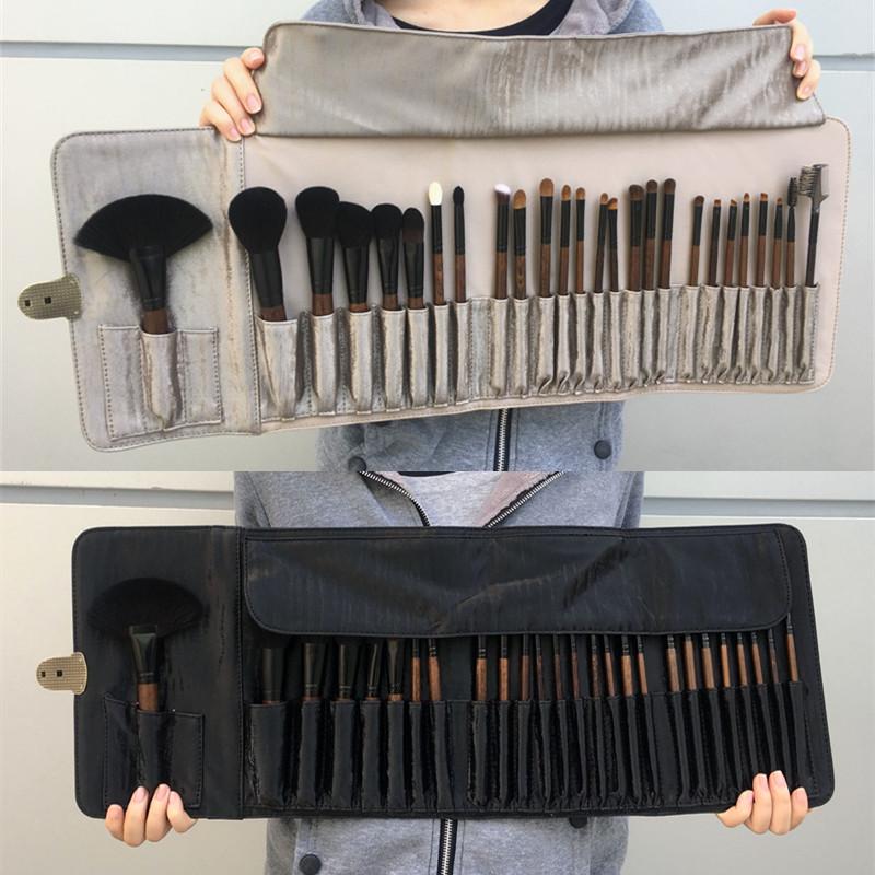 Makeup Artist Set Professional Makeup Brush Bộ hoàn chỉnh Bộ công cụ trang điểm nâng cao 26 Set Bàn chải lông kết hợp lông động vật - Các công cụ làm đẹp khác