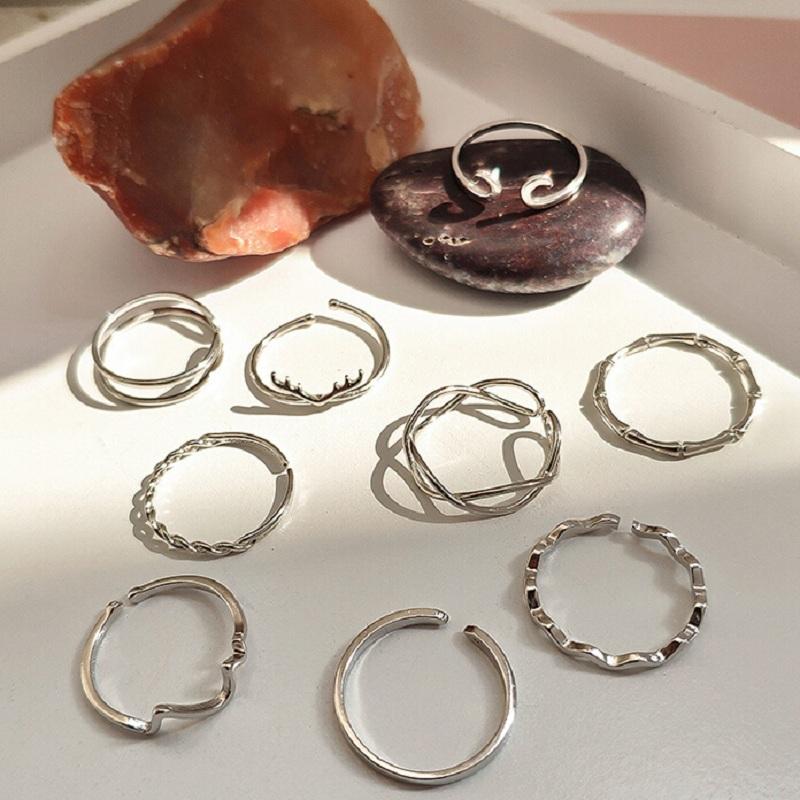 通体s925纯银小众设计简约戒指-秒客网