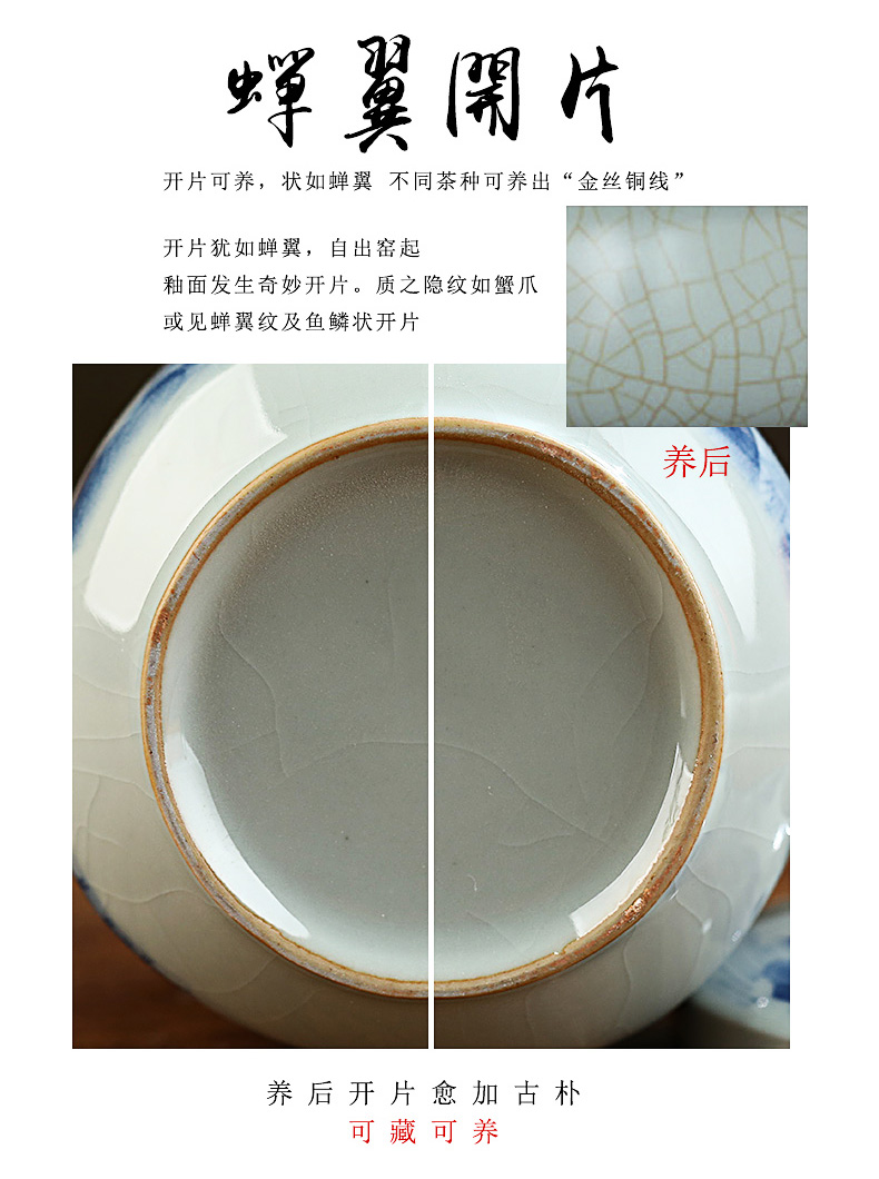 Your up filter cup tea cup high - capacity keller office separation of ceramic tea cup