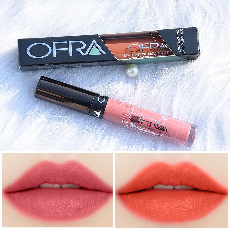 Сша OFRA штейн штейн губа глазурь жидкость губная помада губная помада продолжительный Miami fever персик / девушка цвет