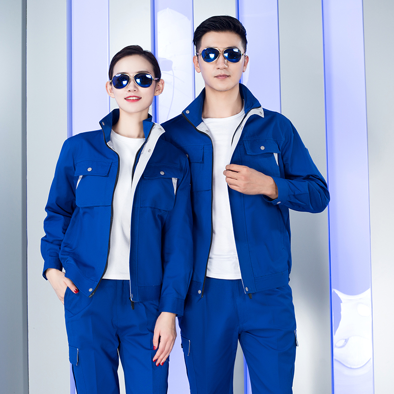 Engineering clothing long sleeve overalls suit male labor insurance clothing Auto Wear site construction outdoor workwear factory clothing