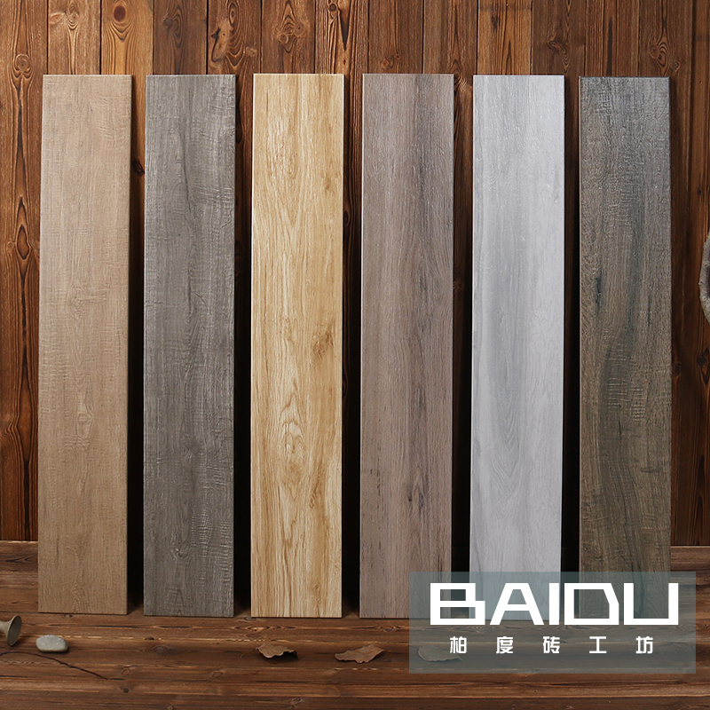 Nordic Wood Printed Brick Imitation