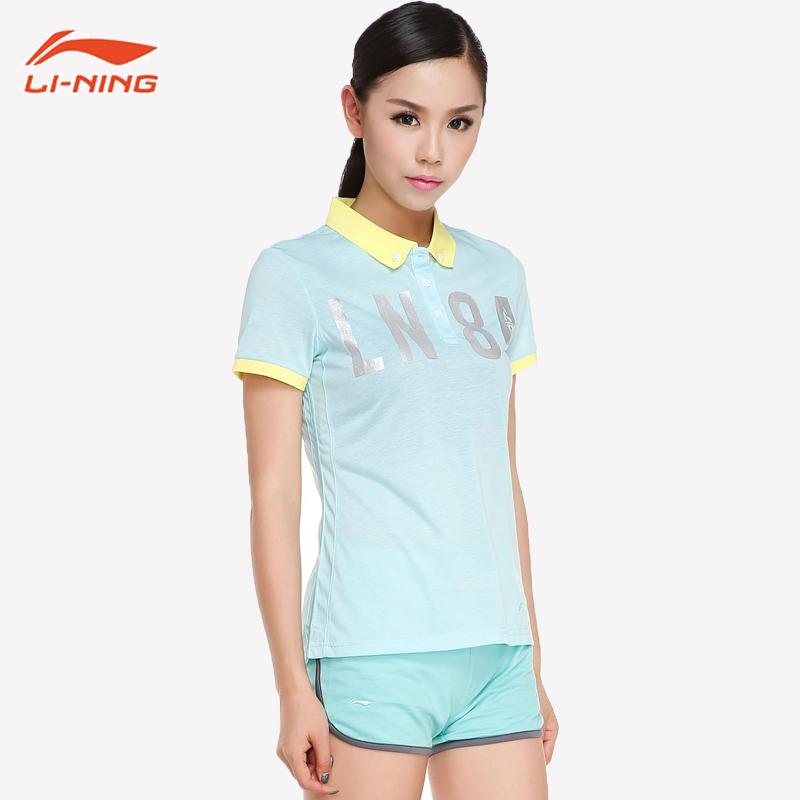 李宁 生活系列 女式短袖Polo衫 天猫优惠券折后¥39包邮(¥59-20)多色可选