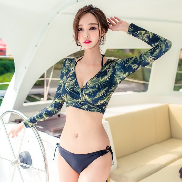 Usd 60 89 Korean Version Bikini Women Size Chest Gather