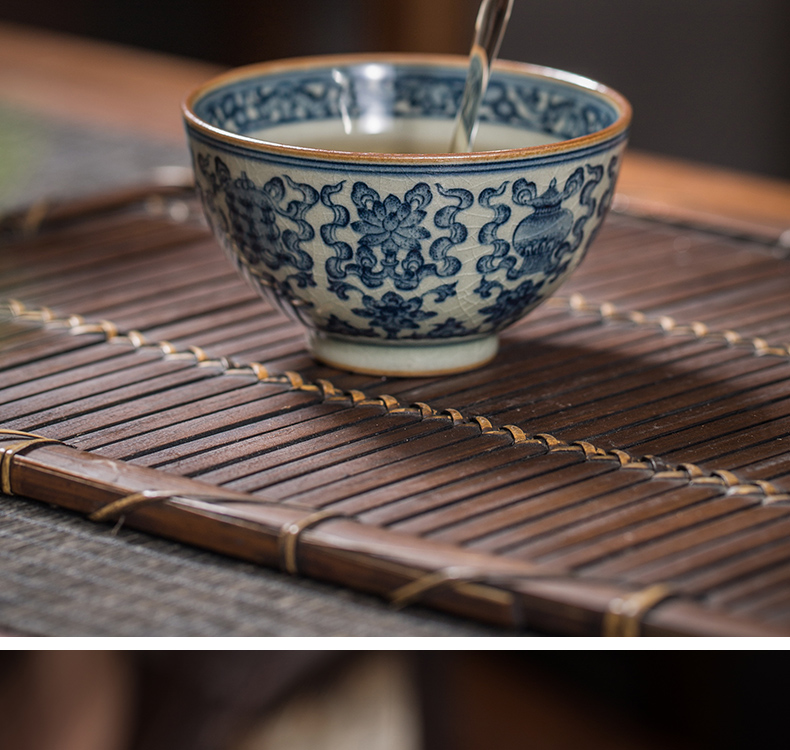 【 5.27 】 jingdezhen pure manual hand - made maintain old clay antique in a cup