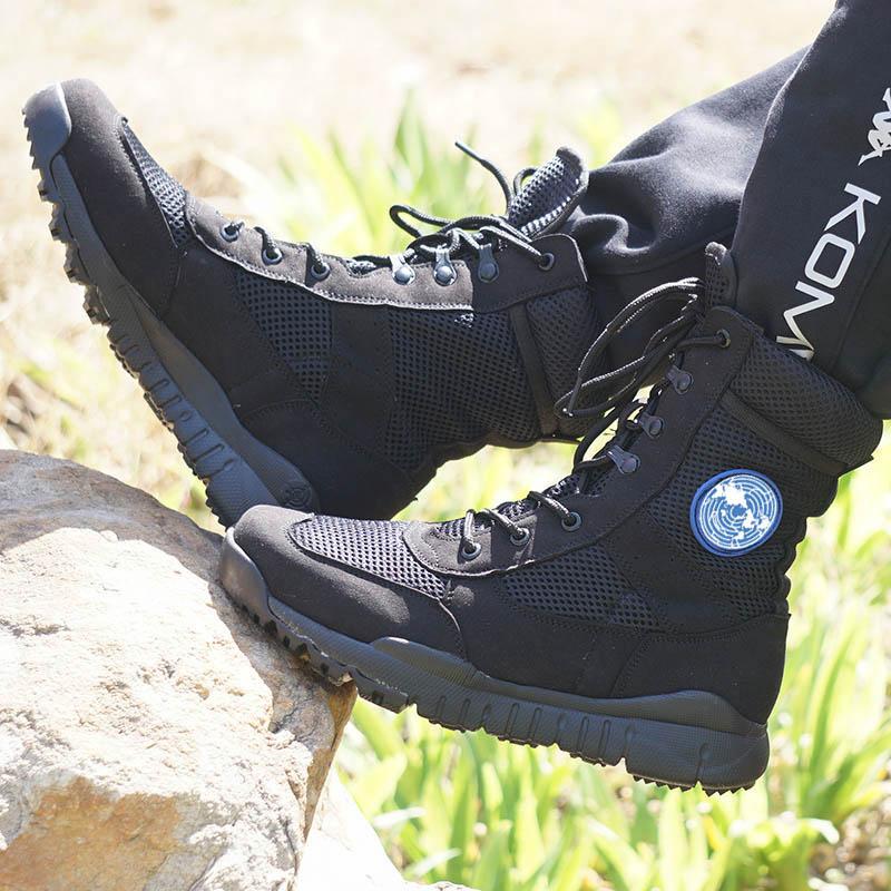 Оригинал Открытый ультралегкий 07 боевых сапог тактических ботинок легкий воздухопроницаемый Обучающие ботинки армейской обуви мужской Специальные силы летом берцы
