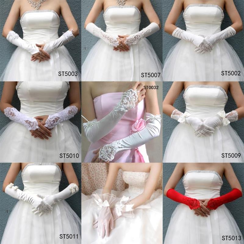 Bridal Gloves Wedding Dress Finger New Long Accessories Products