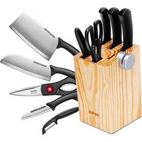 【苏泊尔】不锈钢七件套刀具