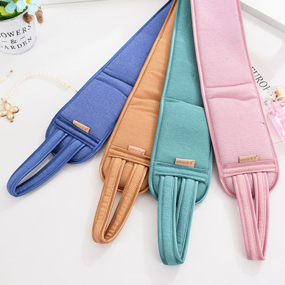 Children's baby bathing double-sided rubbing mud rubbing ash bath towel female bathroom gloves strong long back rubbing bath towel