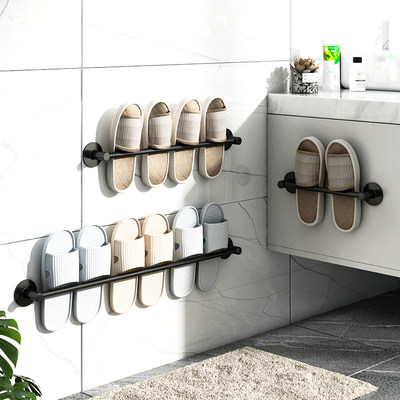 Bathroom toilet wall-mounted sloppper bathroom exemption hole wall toilet toilet shoes storage artifact
