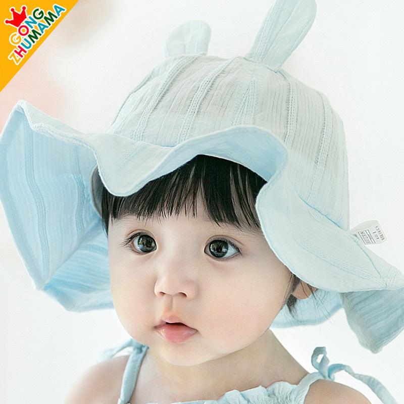 【爆款返场】儿童太阳防晒沙滩帽