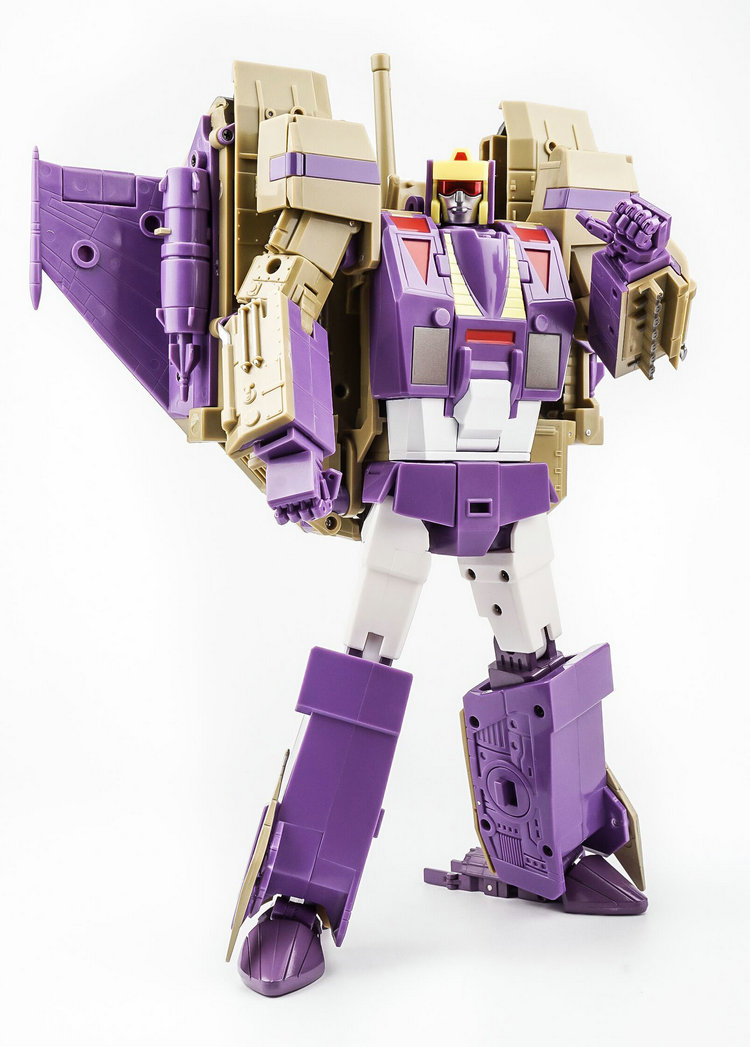 Transformers KFC BLIZTWING Ditka Triple FIGHTER MP size Lightning BRAND new