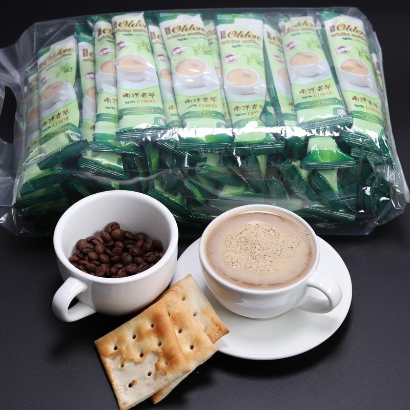 足4斤量:马来西亚 南洋古早 榛子味白咖啡40gx55条