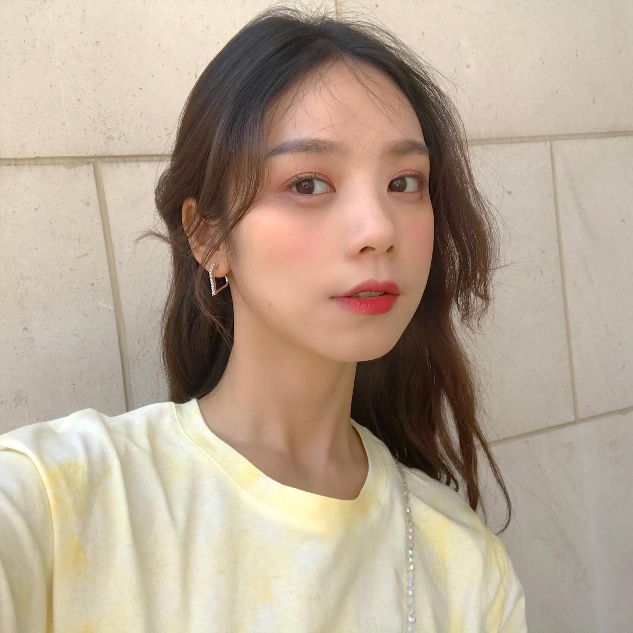 a耳环立体几何镂空耳环韩国个性女珍珠爱心气质简约百搭款耳钉E982
