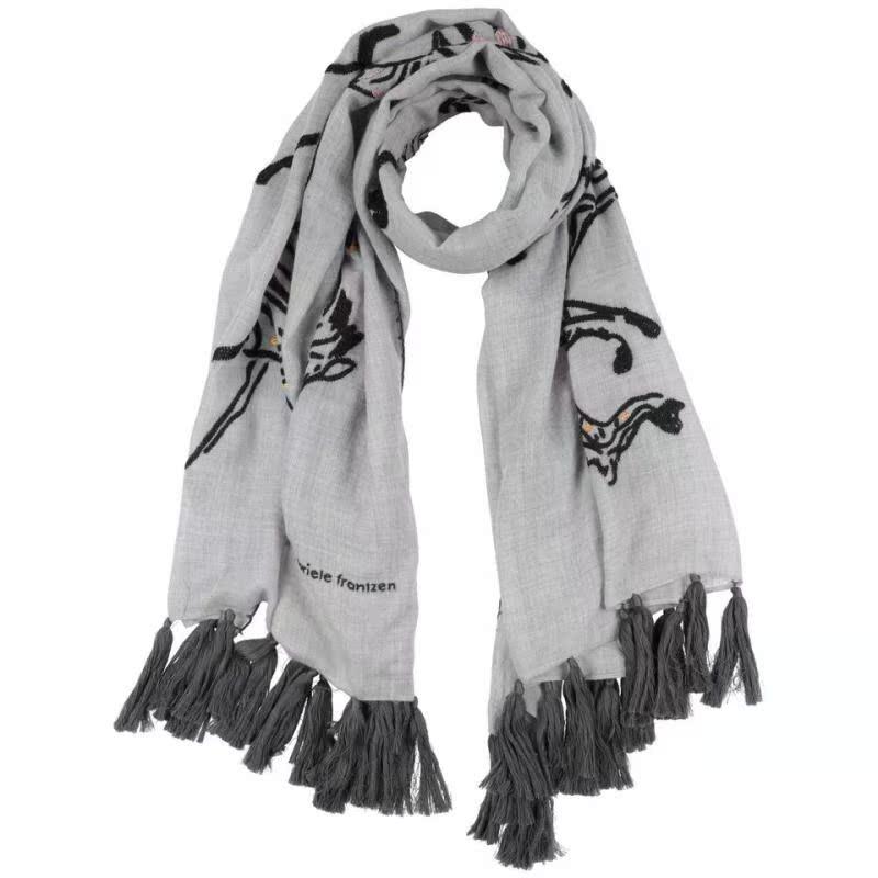 Đã bao gồm thuế khi mua sản phẩm khăn quàng cổ mùa xuân cho nữ Gabriele Frantzen 2020 - Khăn quàng cổ / khăn quàng cổ