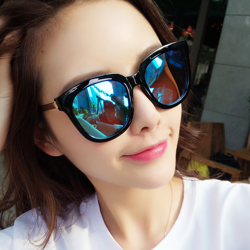 116d869d32 USD 44.84  Sunglasses female Korean version of the tide gm new Star ...