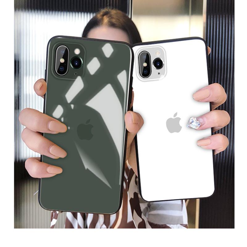 苹果x秒变iphone11手机壳伪装改XS创意男XSmax玻璃防摔女保护套潮
