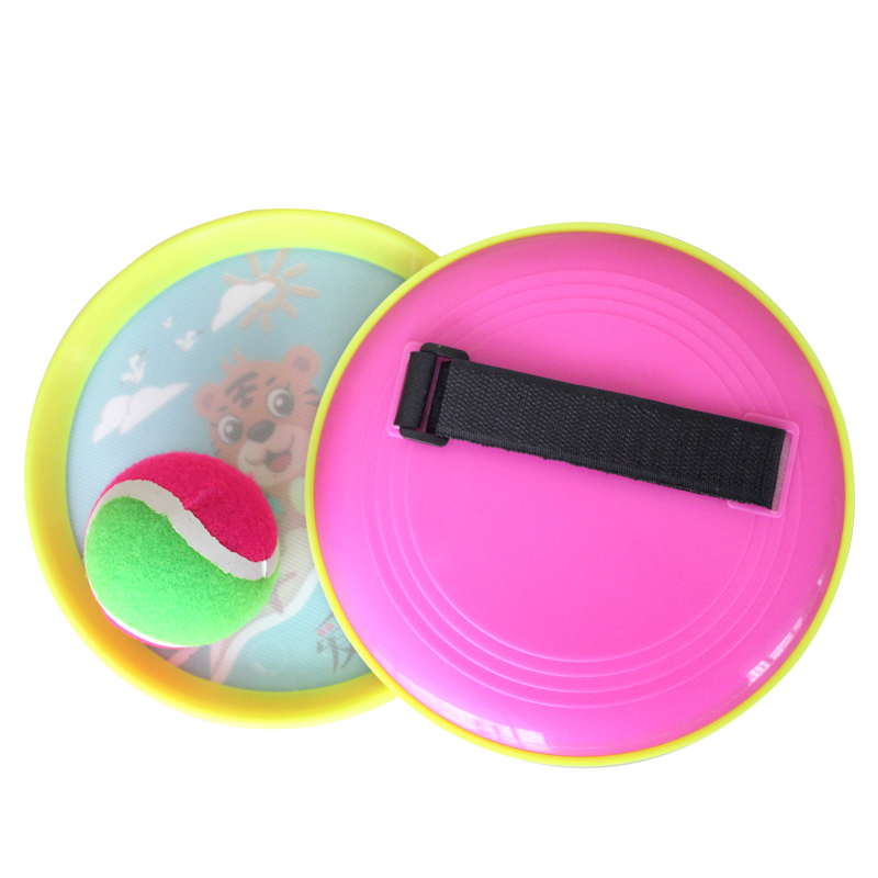 Sucker Ball Throw Gift Childrens Toys Sticky Target Velcro Outdoor Fitness Birthday