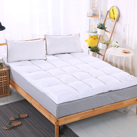 Hotel thickened feather velvet mattress 10cm foldable tatami student double sleeping mat bed mattress cushion