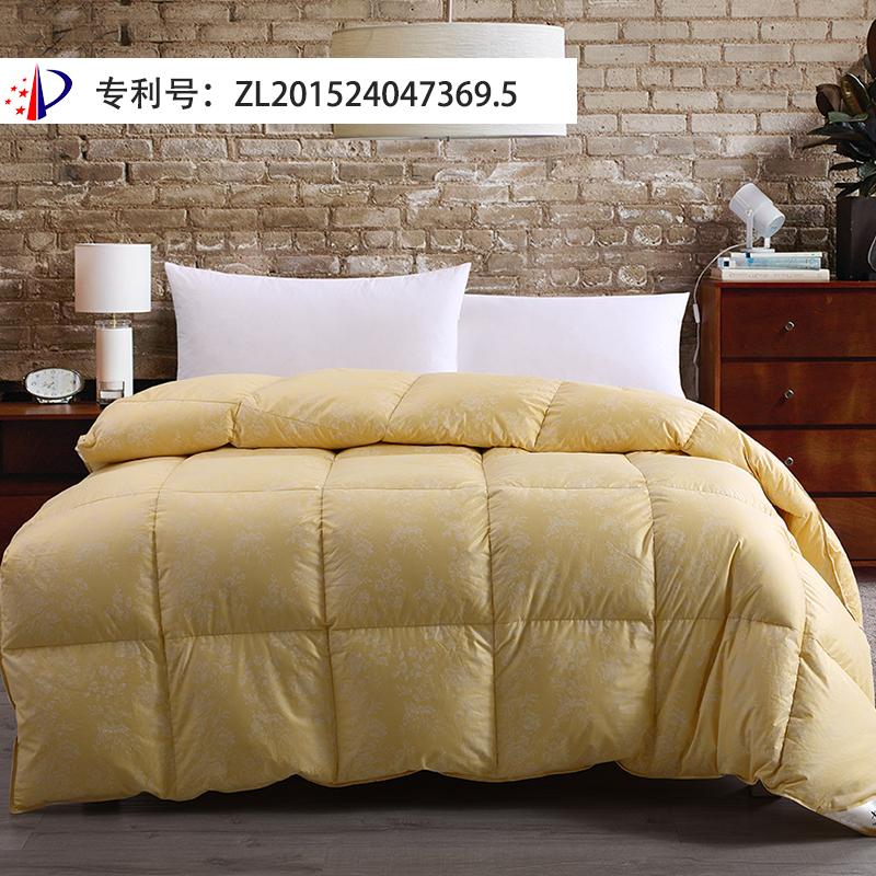 仙娥羽絨被95白鵝絨純棉雙人加厚被芯保暖單人學生冬被子床上用品