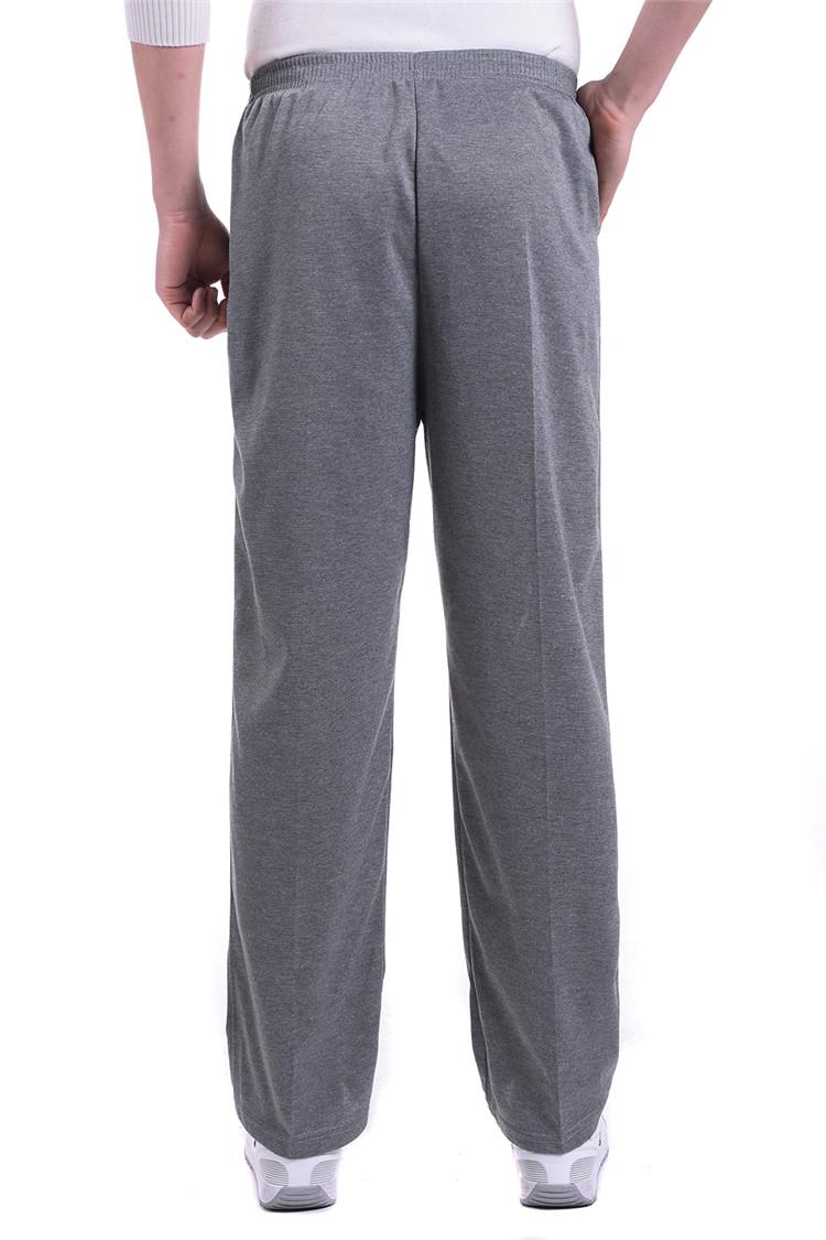 Mùa hè phần mỏng trung và tuổi già thể thao giản dị quần trung niên của nam giới cao eo người đàn ông lỏng lẻo của quần kích thước lớn vành đai đàn hồi quần
