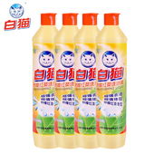Baimao Dishwashing Liquid, 4 Bottles