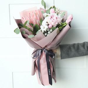 有间花店帝王芍药花束上海鲜花同城情人节送爱人女友当天专人直送