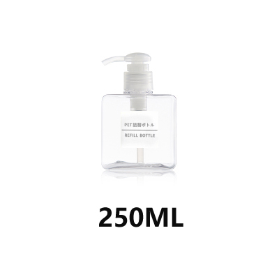 Transparent 250ML (buy two get one free)