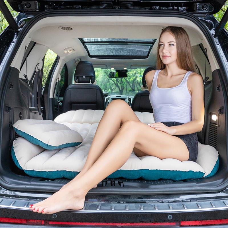 车载充气床SUV专用气垫床 越野车通用车中床折叠床汽车用旅行床垫