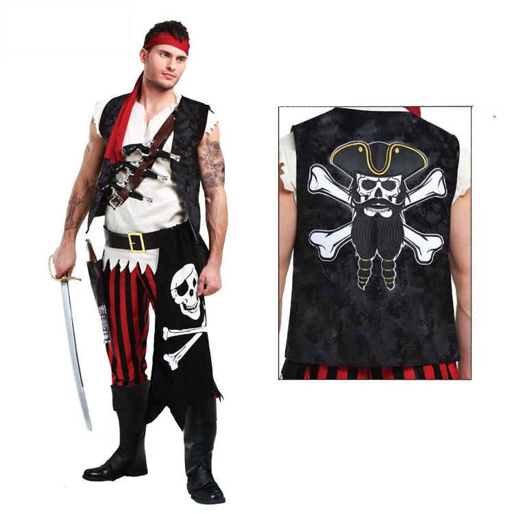 Хэллоуин карнавал год может партия взрослый мужчина пиратский корабль броня доска работа человек прокат член пиратский корабль член наряд играть одежда