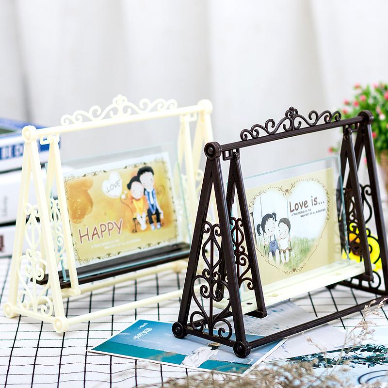 Творческая фоторамка DIY 5 6-дюймовый 7-дюймовый качели свадебное Фотореклама фоторамка персонализированная фоторамка детские Фоторамка