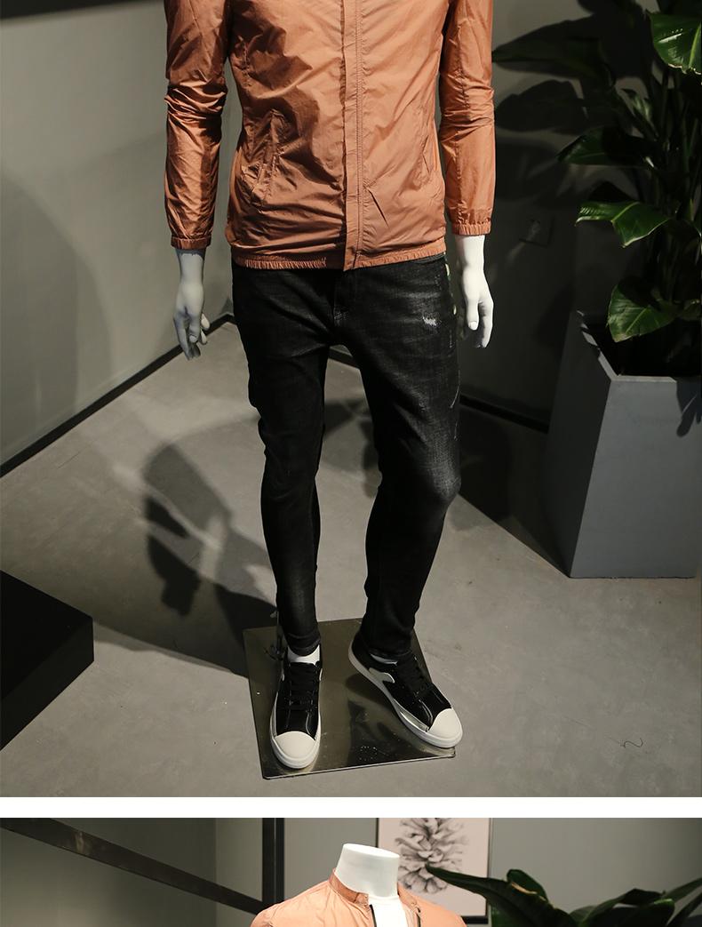 Mùa hè phần mỏng quần áo chống nắng nam áo khoác 2018 new sun bảo vệ quần áo lưới thoáng khí áo khoác da quần áo kem chống nắng quần áo