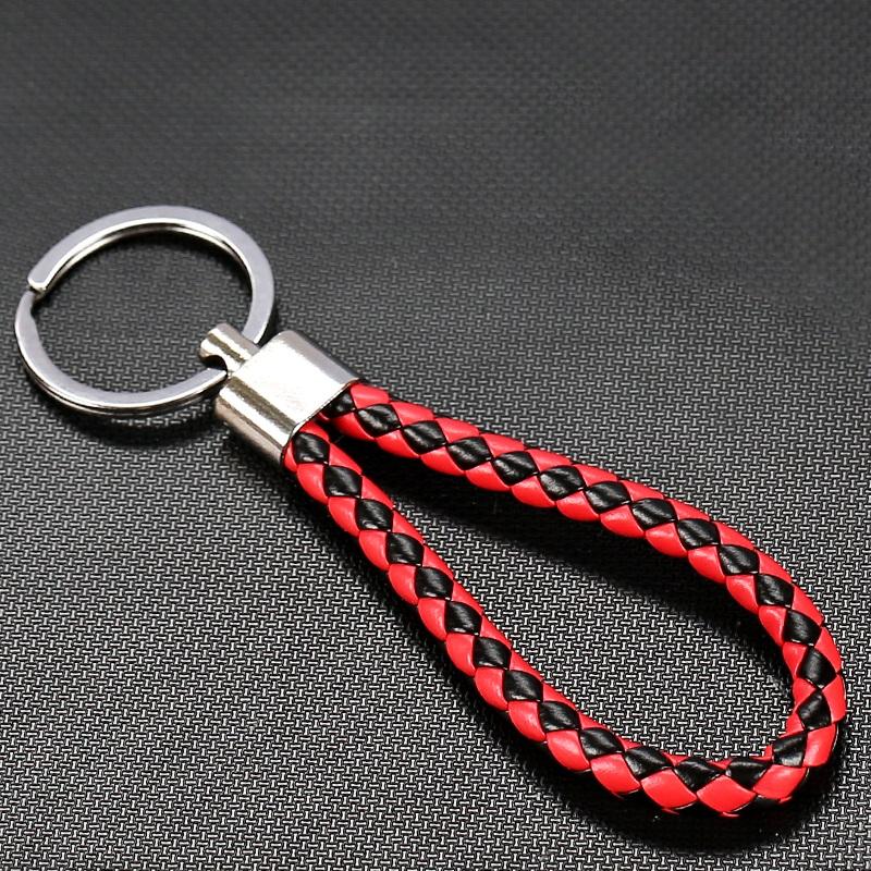 创意男士ins个性钥匙扣高档汽车钥匙链圈挂件精致锁匙绳带环挂饰