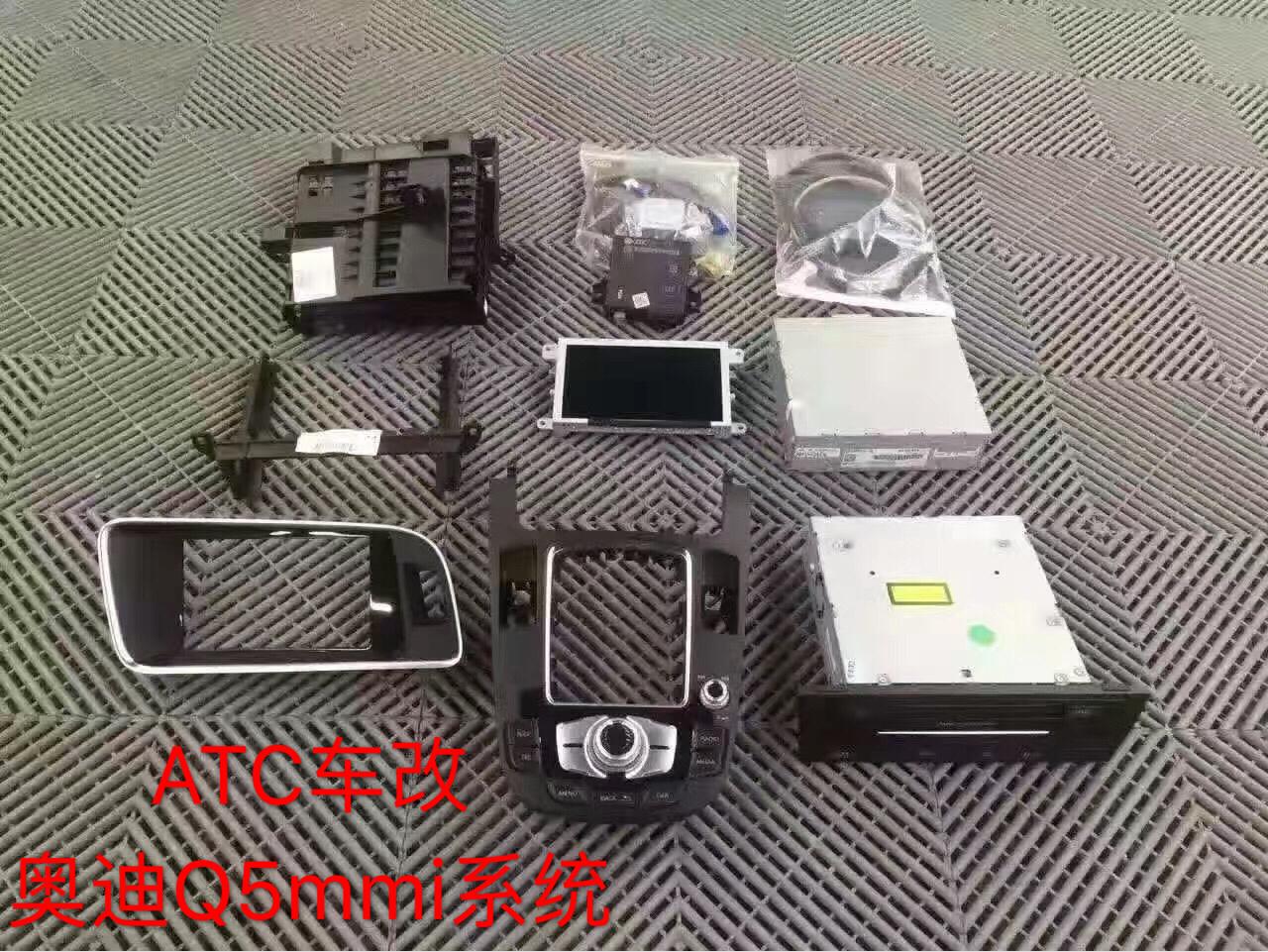奥迪Q5  MMI 3G+系统升级 原厂导航系统 人机交互系统